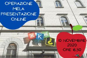 Operazione Mela: presentazione online per insegnanti